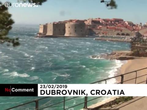 Hurrikáni erővel a Bóra | ClimeNews - Hírportál