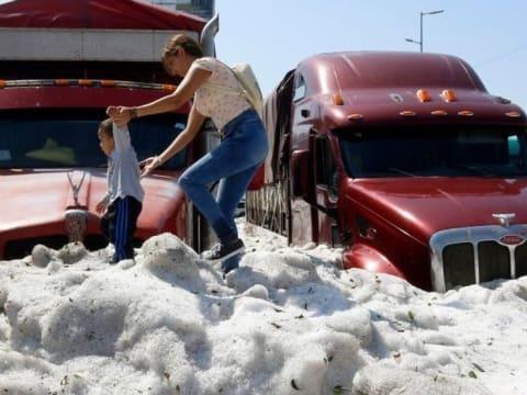 Soha nem látott természeti jelenség a mexikói Guadalajara külvárosában   ClimeNews