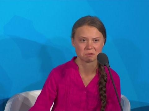 Könnyeivel küzdött beszéde alatt Greta Thunberg az ENSZ-ben   ClimeNews