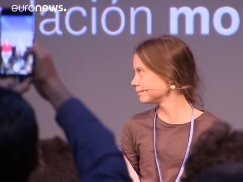 Greta Thunberg megszólalt Madridban is   ClimeNews