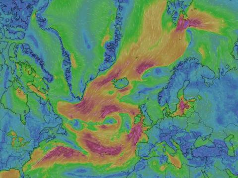 Újabb heves vihar tart Európa felé   ClimeNews - Hírportál
