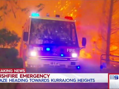 Ausztrália: félelmetes a tűzgyűrű Sydney körül   ClimeNews