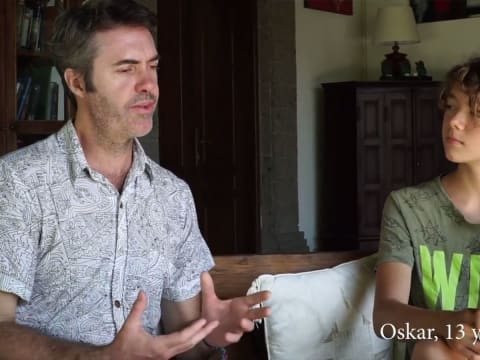 Oszkár kutatása - fiatalok beszélgetése a klímáról, összeomlásról | ClimeNews