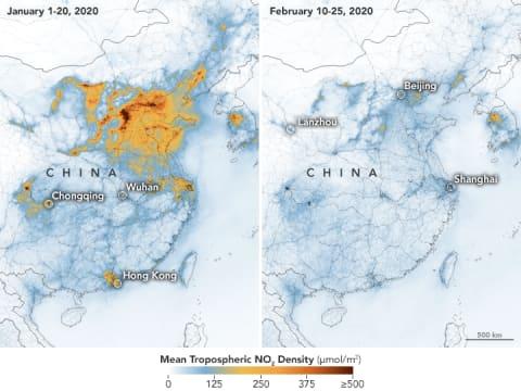 Kína szennyezettségi szintjének drámai csökkenése | ClimeNews - Hírportál