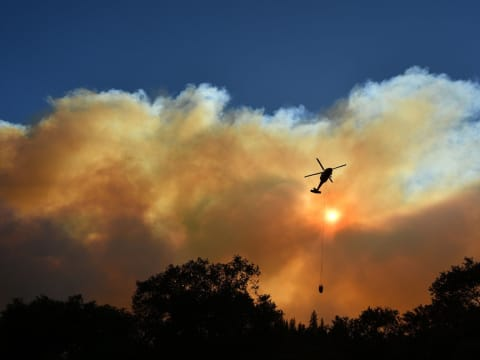 """""""Ez válság, nem változás""""   ClimeNews - Hírportál   Fotó: Josh Edelson/AFP via Getty Images"""