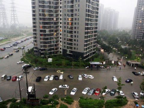 Ítéletidő Kínában | ClimeNews - Hírportál | Kép: EPA/CHING CHIN