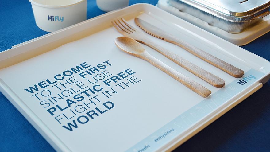 Műanyagmentes repülőjárat | ClimeNews - Hírportál