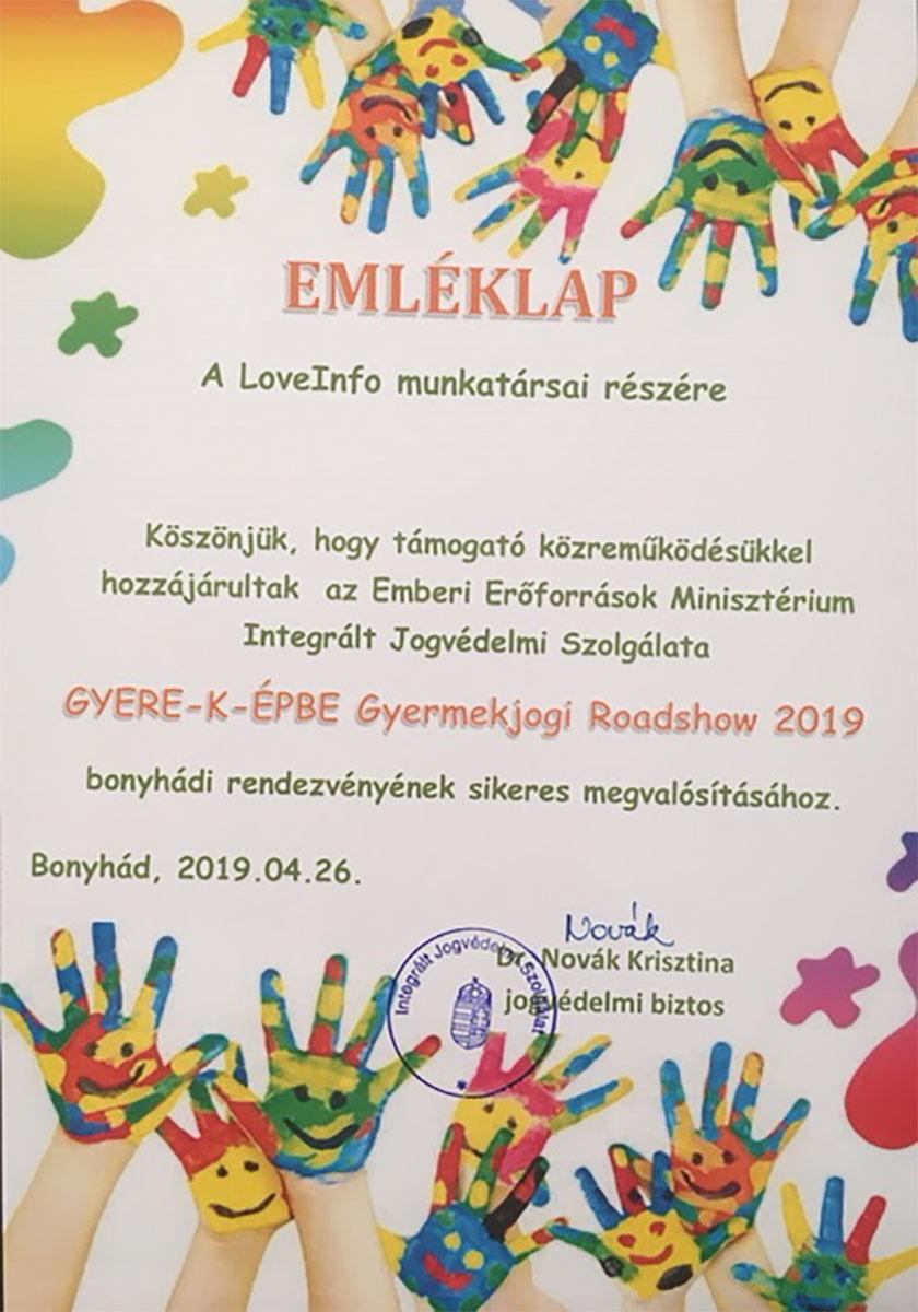 EMLÉKLAP - Dr. Novák Krisztina | LoveInfo