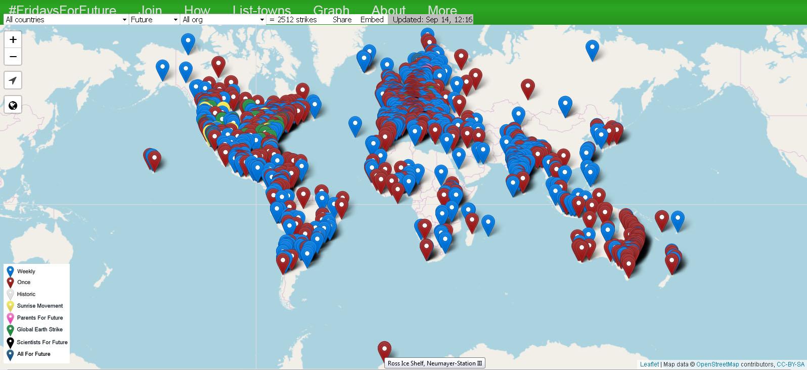 Szeptember 27-én újabb globális klímasztrájk hirdeti a FFF | ClimeNews - Hírportál