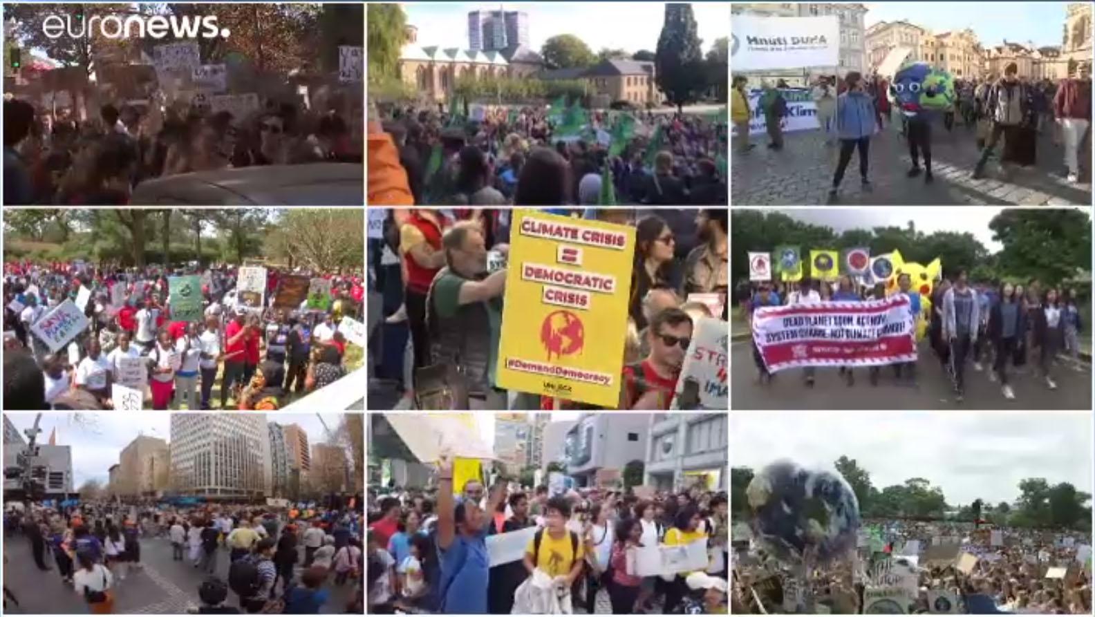 Klímasztrájkok világszerte