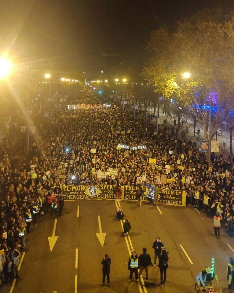 Kivonultak a klímaaktivisták a madridi klímacsúcsról | ClimeNews - Hírportál