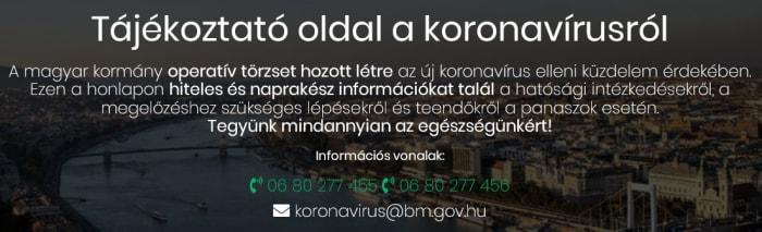 Koronavírus - COVID-19   ClimeNews - Hírportál