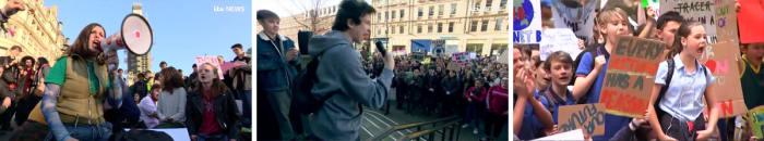 Egy magányos sztrájk a klímáért... | ClimeNews