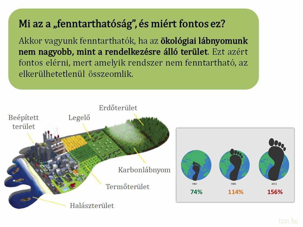 Miért lehet az, hogy magasabb az ökolábnyom, mint a biokapacitás?