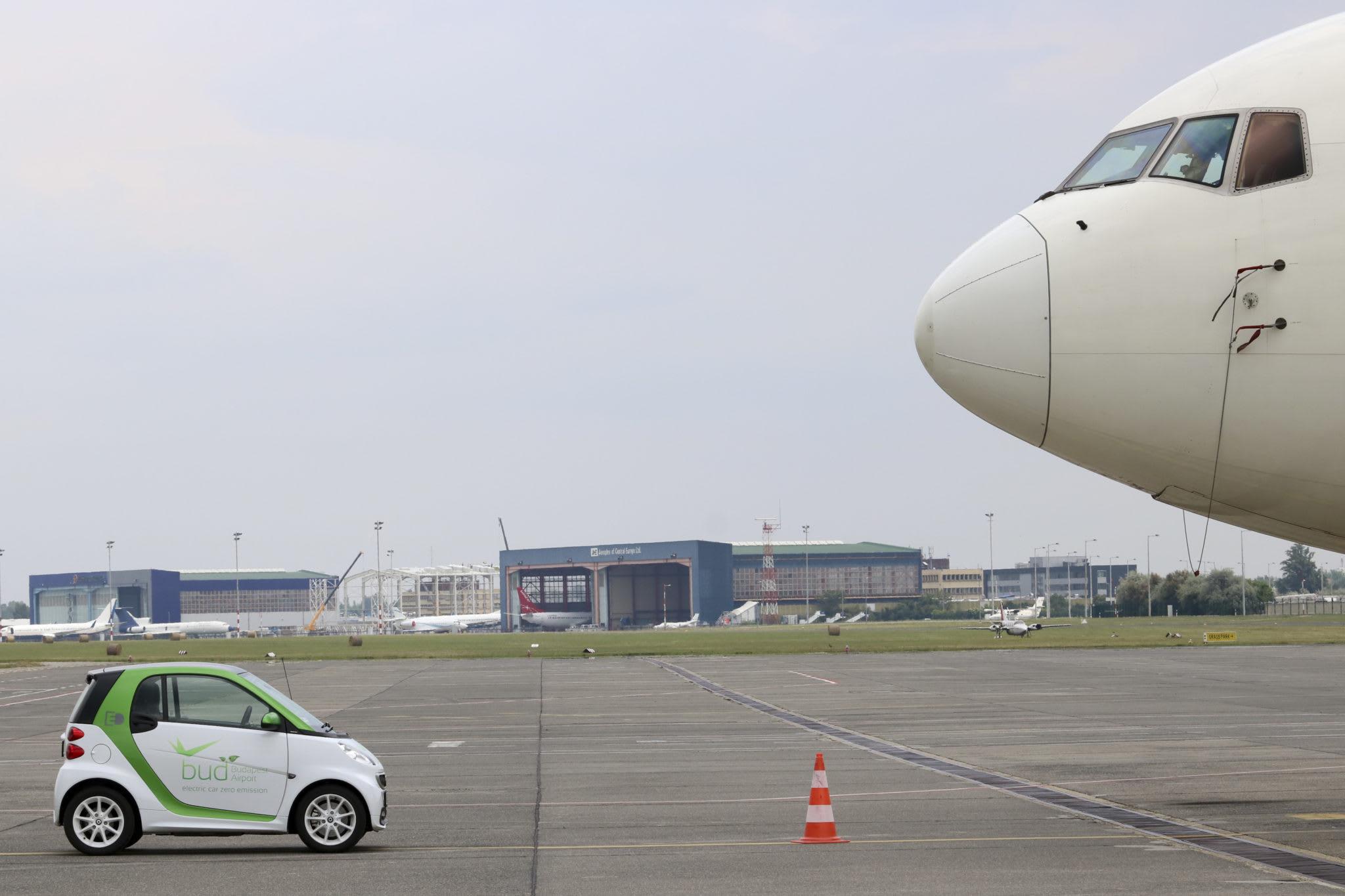 Három éve karbonsemleges a Budapest Airport