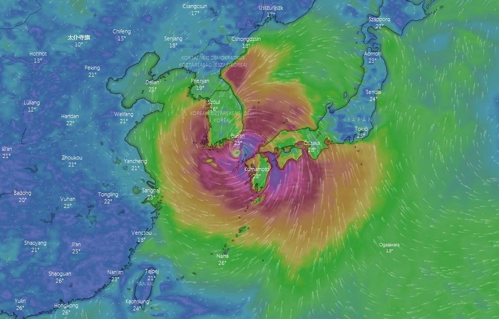 Több millió embert telepítenek ki Japánban