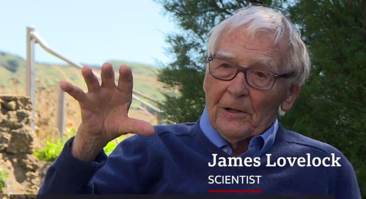 101 éves James Lovelock környezettudós