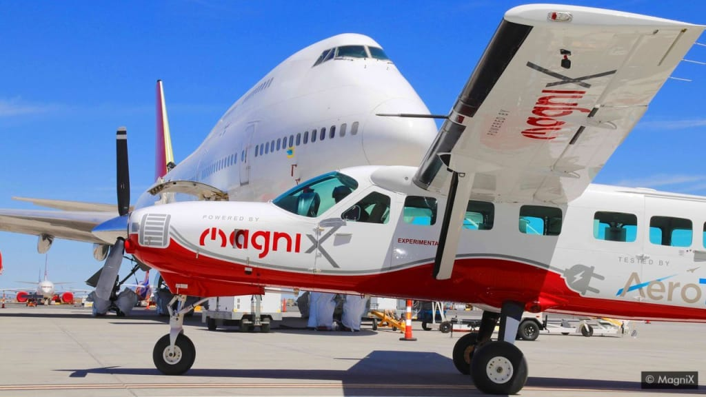 A legnagyobb elektromos repülőgép, amely valaha repült | ClimeNews