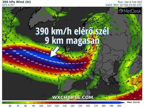 A Ciara névre keresztelt viharciklon elérhet bennünket | ClimeNews