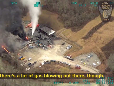 Óriási gázkitörés volt Amerikában | ClimeNews - Hírportál