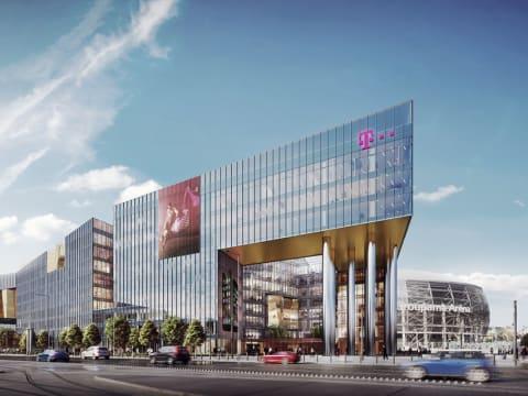 Ilyen lesz a Telekom   új székháza kép: skyscrapercity.com   ClimeNews