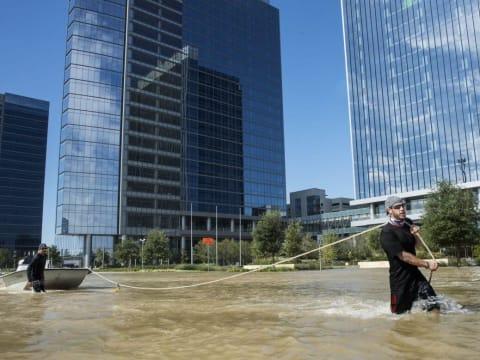 Fotó: ERICH SCHLEGEL/AFP | Harvey után nehezebb lesz kételkedni a klímaváltozásban - ClimeNews