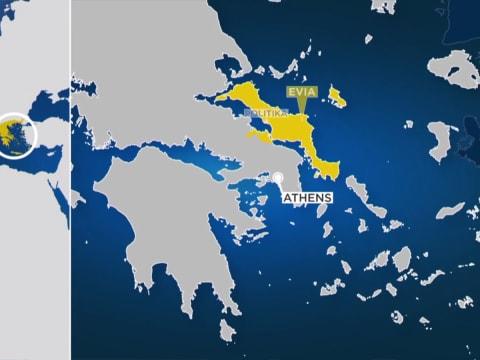 Katasztrófa a Görögországhoz tartozó Évia szigetén | ClimeNews