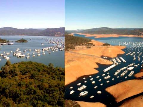 Sokkoló képek az esőváró Kaliforniából   ClimeNews - Hírportál