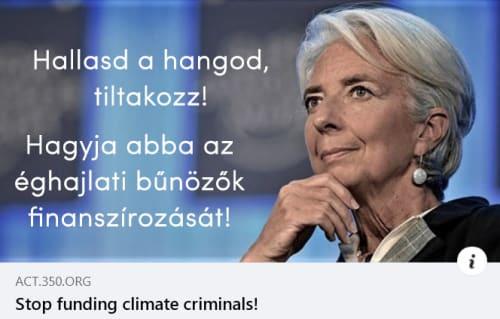 Klímabűnözőket finanszíroz az Európai Központi Bank?! | ClimeNews