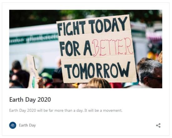 Föld Napja 2020 | ClimeNews - Hírportál