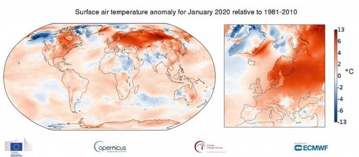 Amióta mérik, még sosem volt ilyen meleg a január Európában | ClimeNews