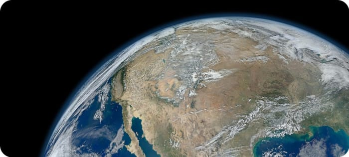 NASA The Earth, an image created from photographs taken by the Suomi NPP satellite. | ClimeNews - Hírportál