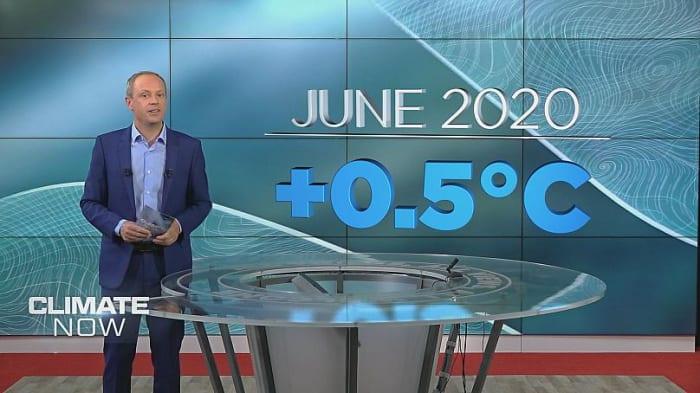 Az idei júniusban rekord meleg volt | ClimeNews - Hírportál