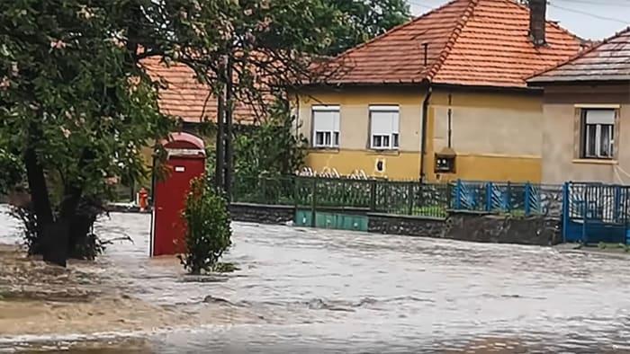 Villámárvíz öntötte el Dédestapolcsányt | ClimeNews - Hírportál