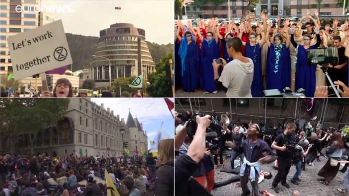 Világszerte környezetükért aggódó aktivisták és civilek tömege tüntet   ClimeNews
