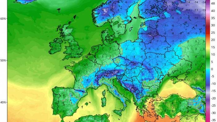 Sarkvidéki, extrém hideg érkezhet Európába a hét végére | ClimeNews - Hírportál