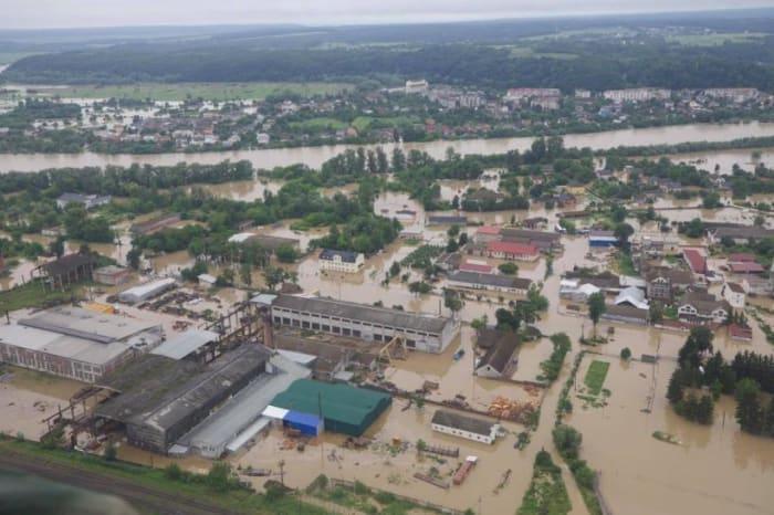 Válságos az árvízhelyzet Nyugat-Ukrajnában | ClimeNews Hírportál