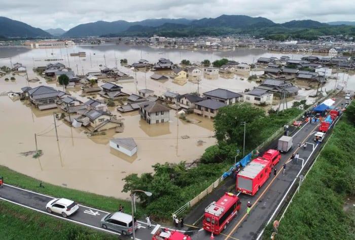 Milliókat utasítottak arra, hogy meneküljenek otthonaikból Japánban
