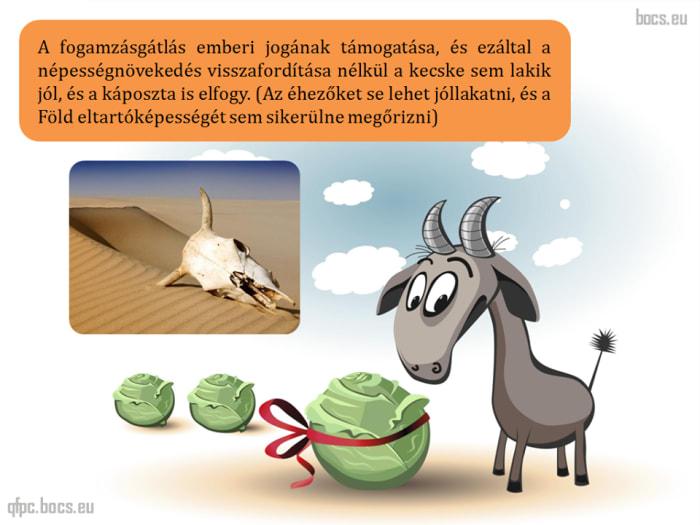 A kecske sem lakik jól és a káposzta is elfogy! | ClimeNews - Hírportál