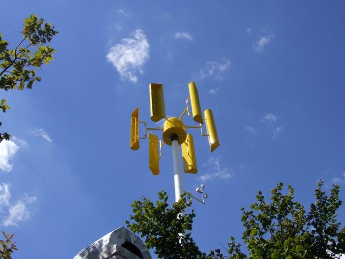 WINTANOO függőleges tengelyű szélturbina (5kW) | ClimeNews - Hírportál