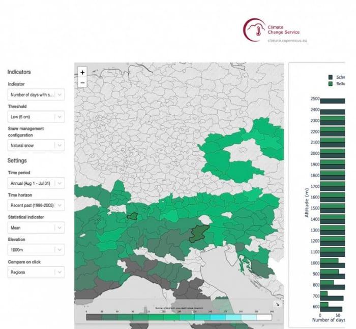Hómennyiség-követés egy változó éghajlatban | ClimeNews