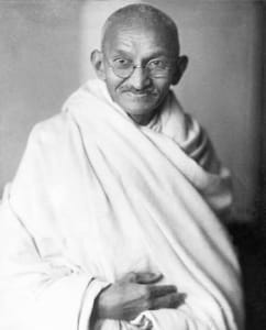 Mahatma Gandhi (1869-1948)   indiai pacifista és az indiai függetlenségi mozgalom vezetője