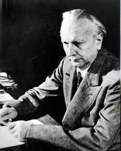 Karl Jaspers (1883-1969)   német pszichiáter és filozófus