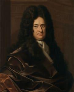 Gottfried Wilhelm von Leibniz báró (1646-1716)   német filozófus, matematikus, polihisztor