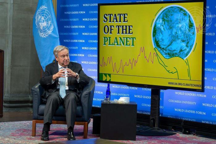 Az ENSZ Főtitkára a bolygó állapotáról | ClimeNews