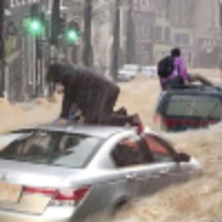 Életveszély Olaszországban a viharok miatt