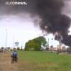 200 méter magas füstoszlop Brémában!   ClimeNews - Hírportál
