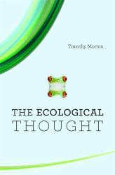 Timothy Morton filozófus az Ecological Thought című könyve