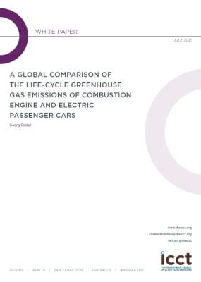 Az elektromos járműveké messze a legalacsonyabb ÜHG kibocsátás