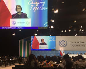 Judit Garber - Trump Administration Statement At COP24 Doubles Down On Backwards Thinking   CleanTechnica